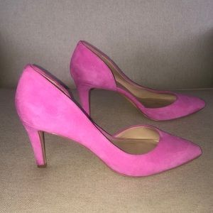 Lord and Taylor pink heels.